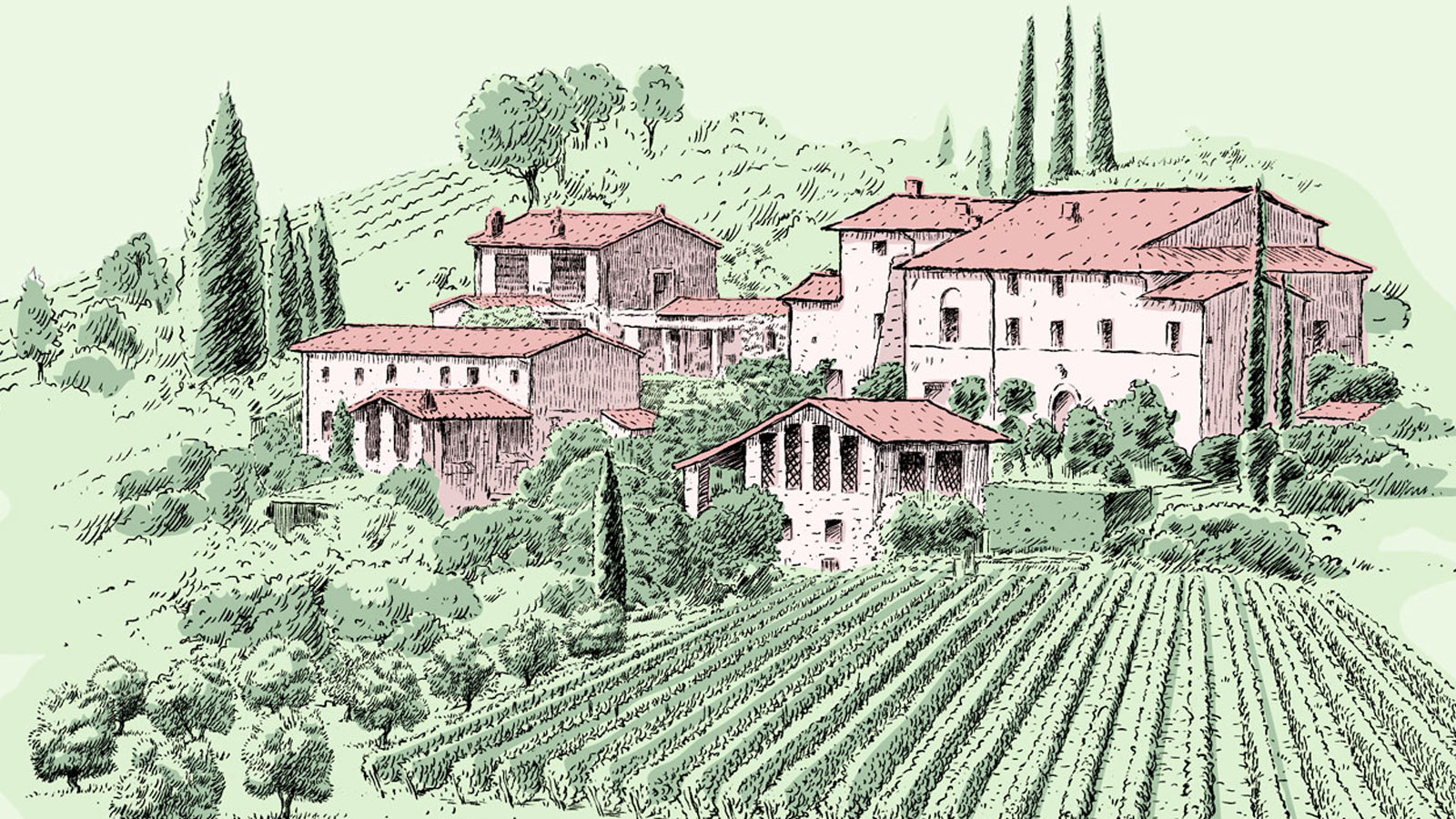 Illustration of Fattoria ColleVerde Wine Resort